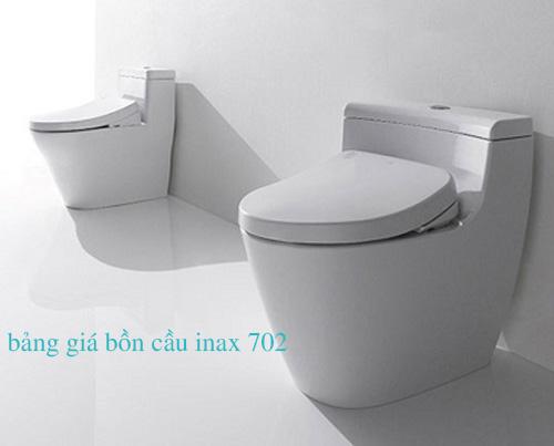 Bảng giá bồn cầu Inax 702
