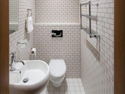 Chất liệu chậu rửa mặt phòng tắm nhỏ