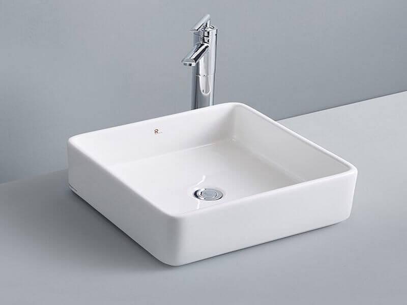 Kích thước chậu rửa vuông nhỏ