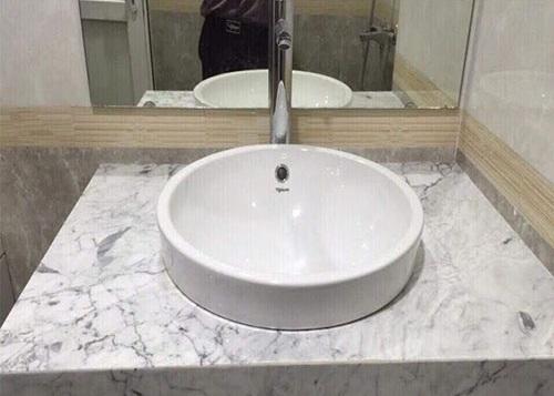 Tính chất chậu rửa mặt đá