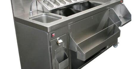 Thiết kế của bồn rửa quầy ba