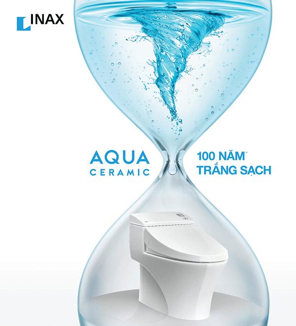 Công nghệ xả xoáy Aqua Ceramic