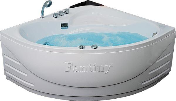 Mẫu bồn tắm góc Fantiny MB95H kích thước950 x 950 x 600mm