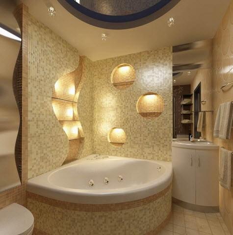 Kích thước bồn tắm góc 1m2