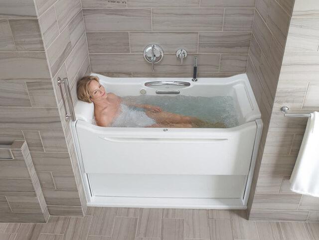 Kích thước bồn tắm góc 1m