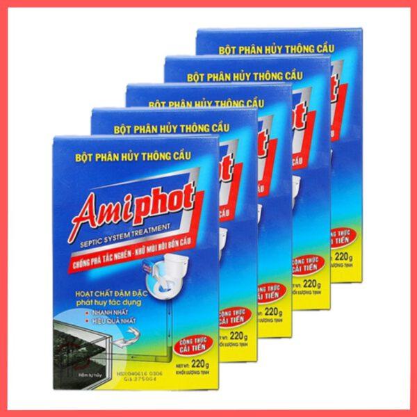 Thuốc thông bồn cầu Amiphot