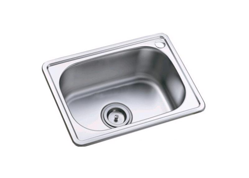Mẫu thiết kế dành cho chậu rửa chén đơn không bàn