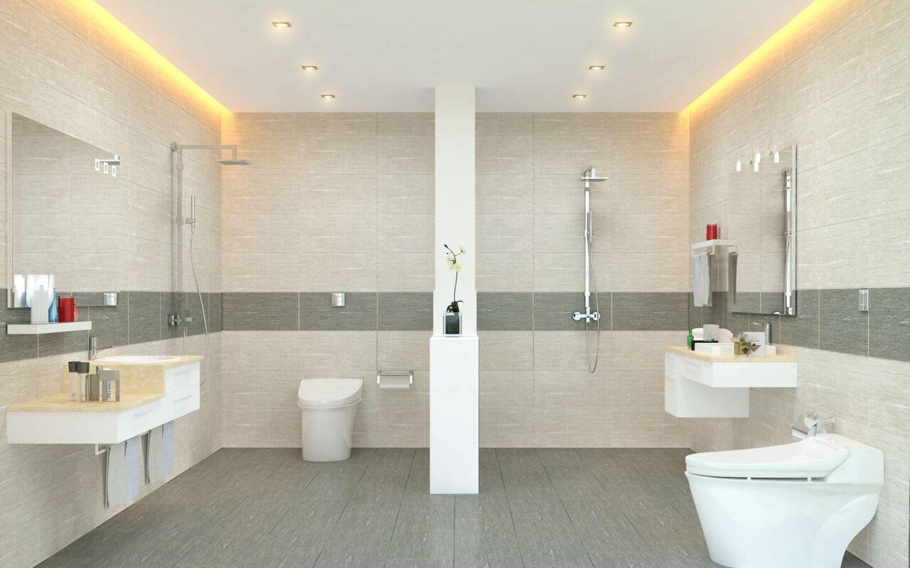 Chọn gạch ốp nhà vệ sinh đẹp còn phải đảm bảo chất lượng