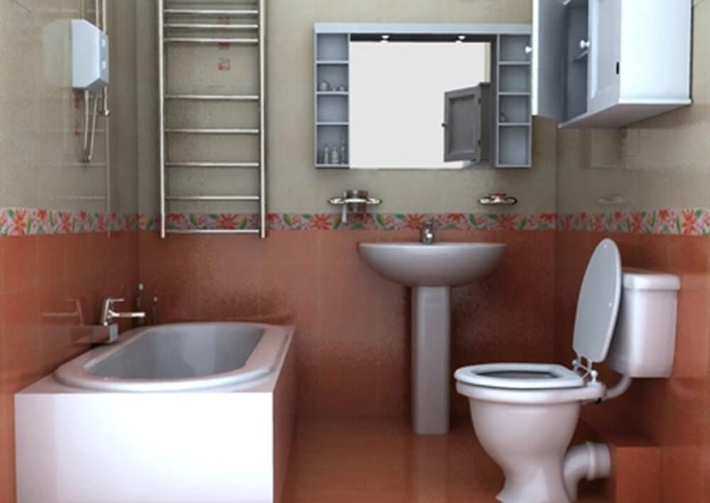 Hộp kỹ thuật thường được đặt ở sau nhà vệ sinh