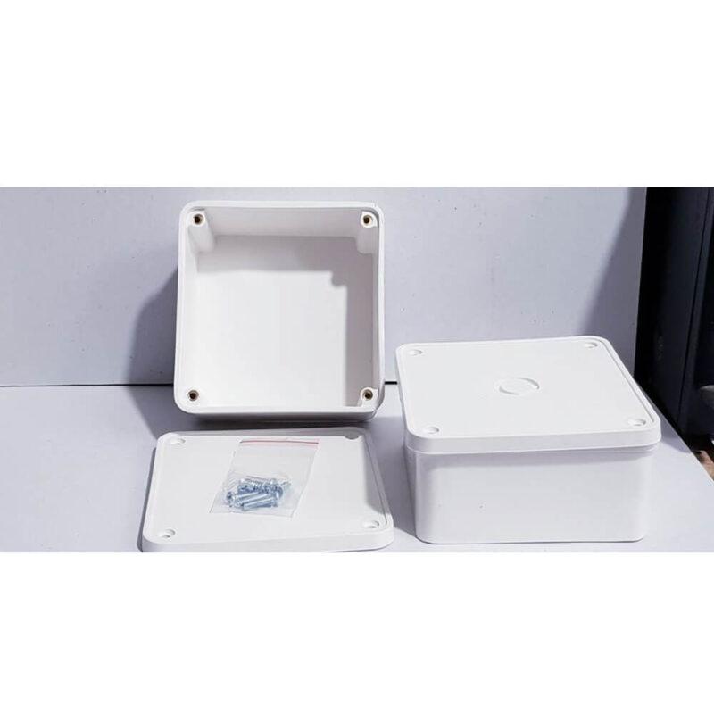 Hộp kỹ thuật nhà vệ sinh thông thường được thiết kế tối giản