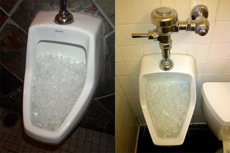 Khử mùi nhà vệ sinh ở cống giảm mùi hôi thối