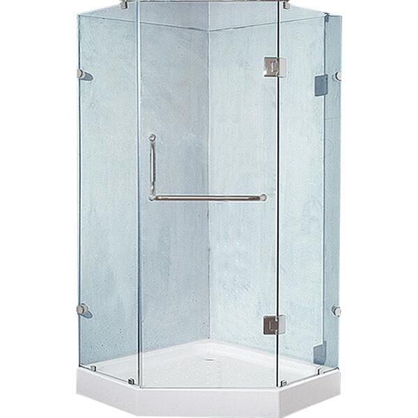 Bồn tắm góc hiện đang được áp dụng cho diện tích phòng tắm nhỏ xinh