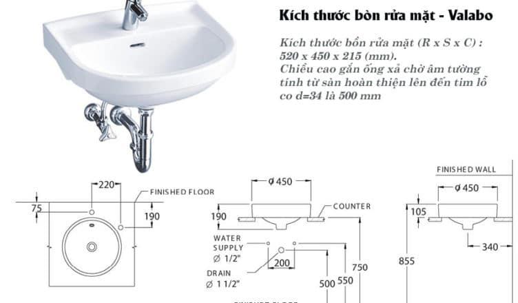 Bồn rửa sử dụng loại ống xả đặc biệt