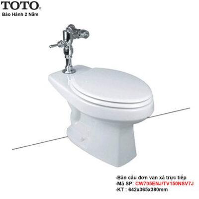 Bồn cầu treo tường Toto CW705ENJ