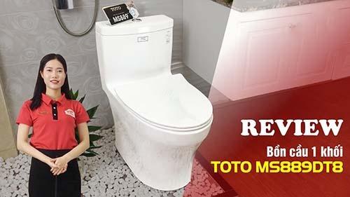 Các đặc tính của bồn cầu Toto MS889DT8