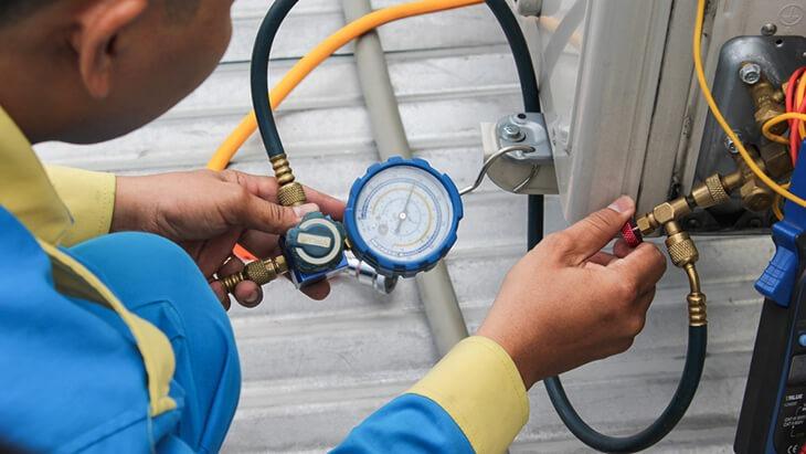 Ngắt nước để chuẩn bị tiến hành lắp đặt