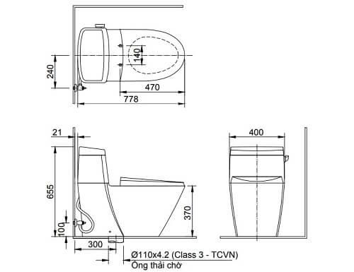 Những tiêu chí chọn mua bồn cầu Inax AC-918VRN
