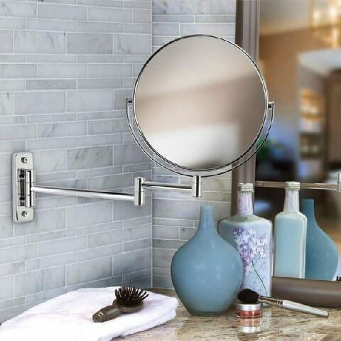 Sử dụng gương lớn cho phòng tắm nhỏ