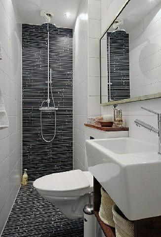 Sử dụng lavabo góc