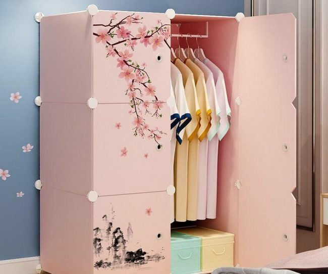 Mẫu thiết kế tủ quần áo đẹp 2020