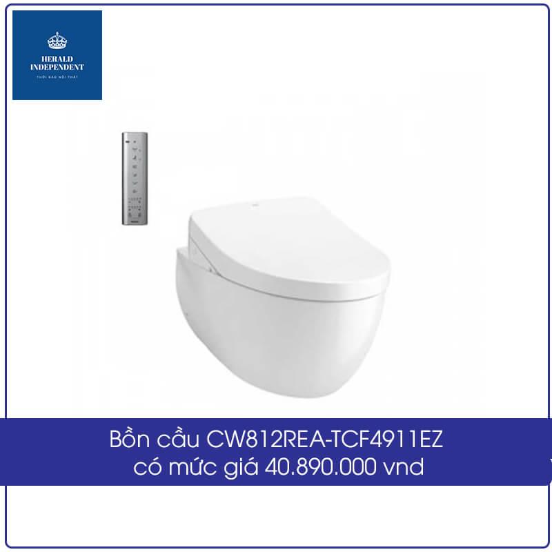 Bồn cầu CW812REA-TCF4911EZ