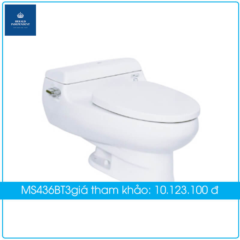 Bồn cầu TOTO 1 khối MS436BT3 có mức giá 10.123.100vnđ.