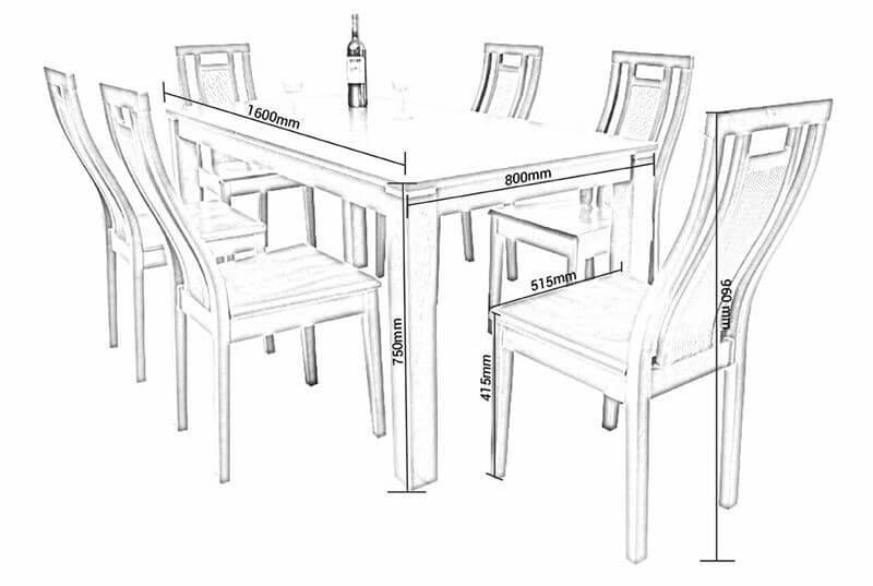 Các loại bàn ăn phổ biến hiện nay