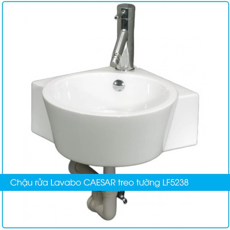 Chậu rửa Lavabo CAESAR treo tường LF5238