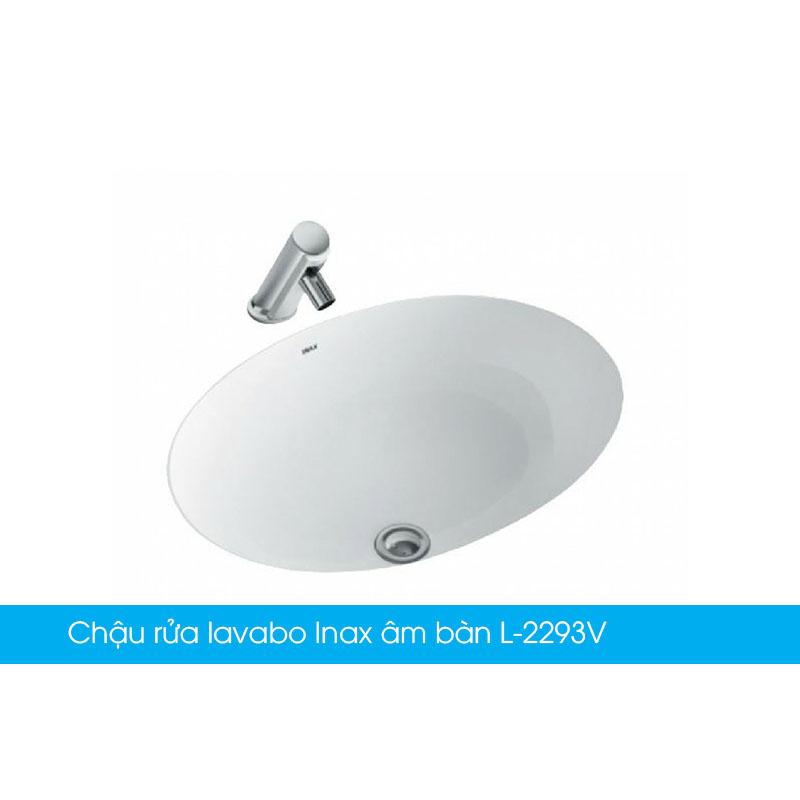 Chậu rửa lavabo Inax âm bàn L-2293V