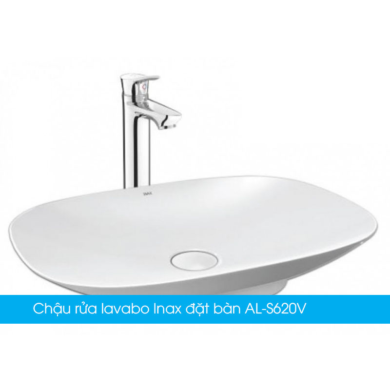 Chậu rửa lavabo Inax đặt bàn AL-S620V