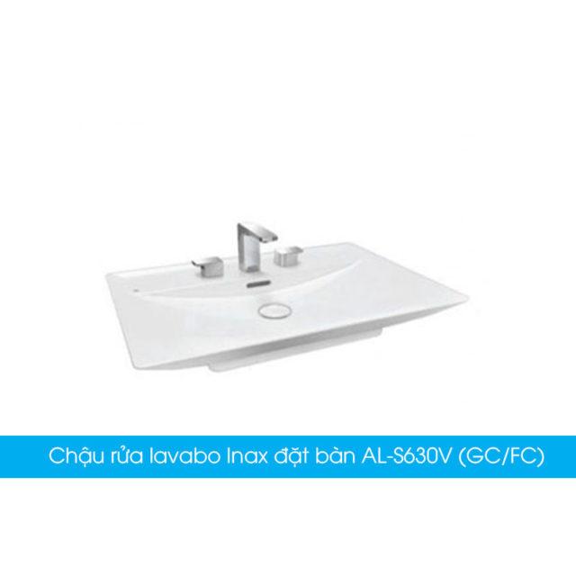 Chậu rửa lavabo Inax đặt bàn AL-S630V