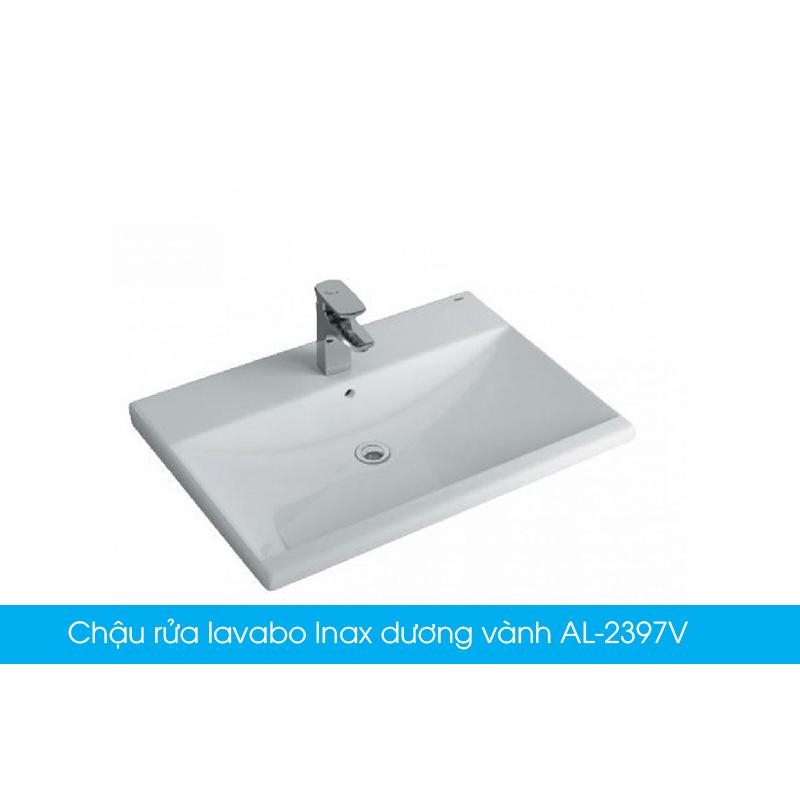 Chậu rửa lavabo Inax dương vành AL-2397V