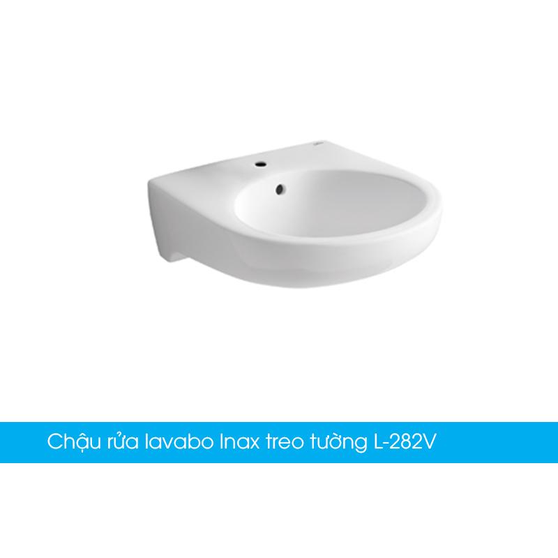 Chậu rửa lavabo Inax treo tường L-282V