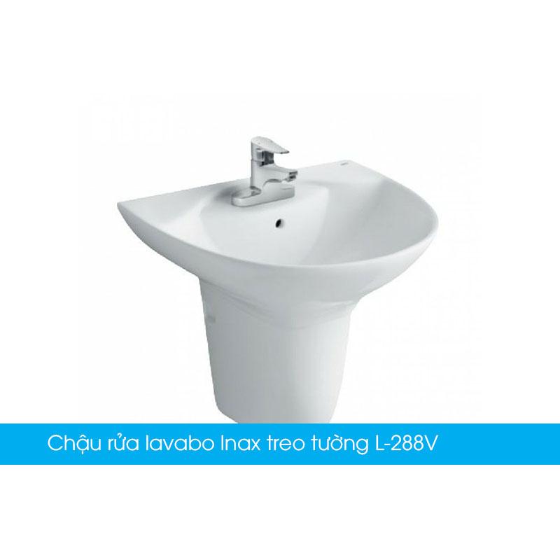 Chậu rửa lavabo Inax treo tường L-288V