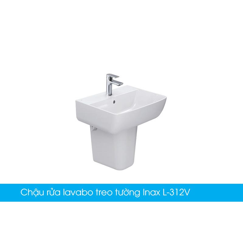Chậu rửa lavabo treo tường Inax L-312V