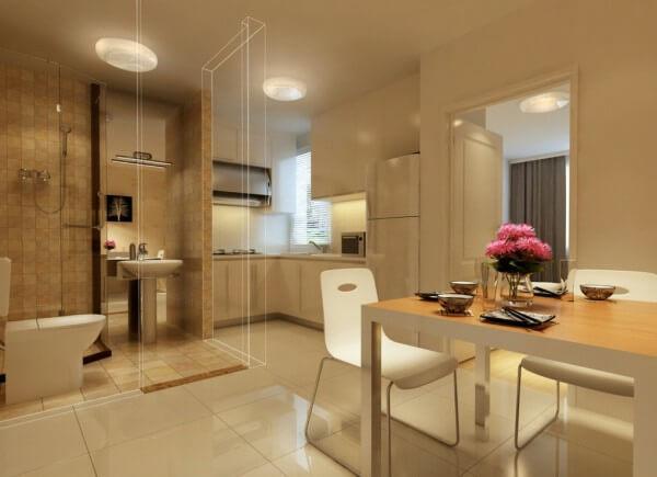 Gợi ý thiết kế phong thủy nhà bếp và nhà vệ sinh