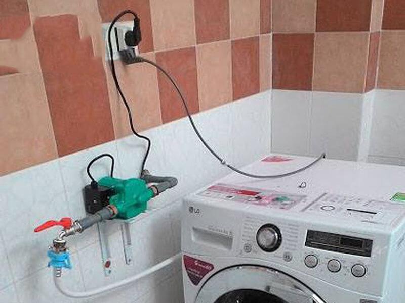 Hướng dẫn lắp đặt máy bơm tăng áp hỗ trợ máy giặt
