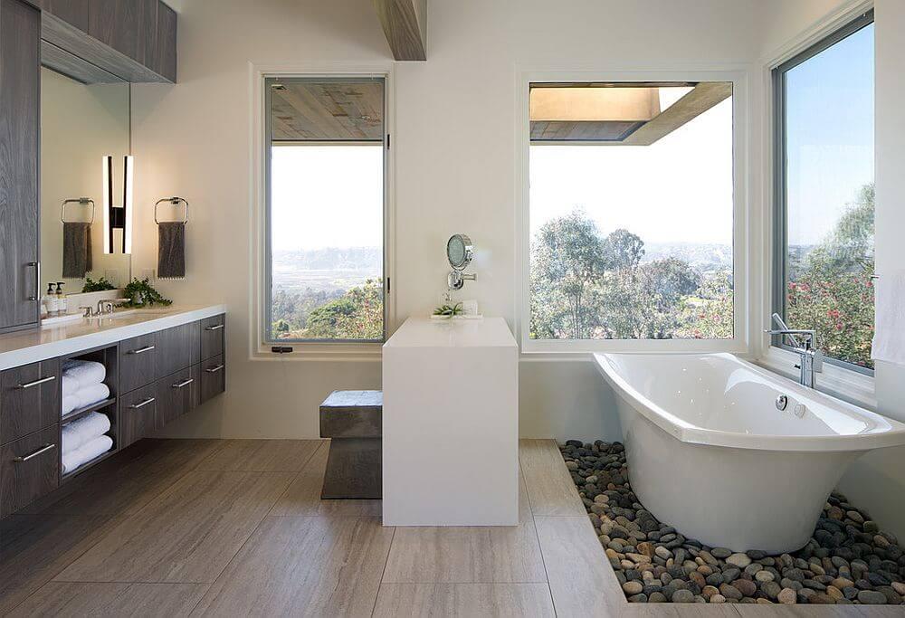 Nhà vệ sinh đẹp và hiện đại