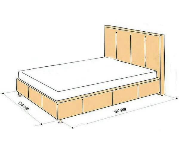 Kích thước của giường ngủ đơn