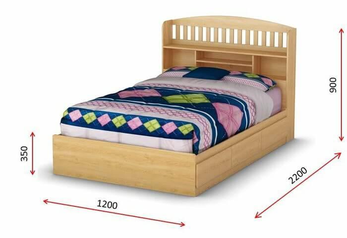 Kích thước giường Queen cho trẻ