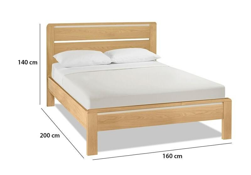 Các mẫu giường kích thước 1m8 đẹp