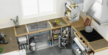Gợi ý những ý tưởng thiết kế nhà bếp đẹp và hiện đại
