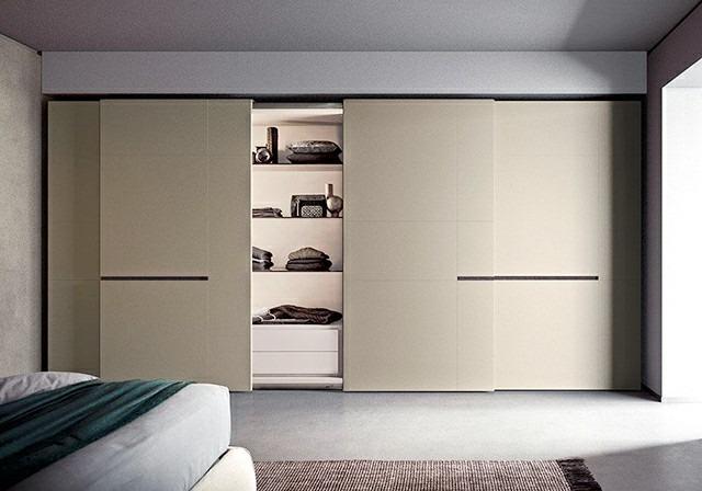 Mẫu thiết kế tủ quần áo âm tường