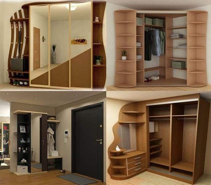Mẫu thiết kế tủ quần áo thông minh