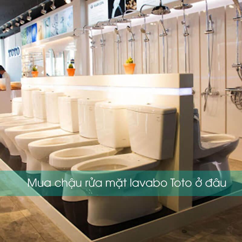 Mua chậu rửa mặt lavabo Toto ở đâu tại Tp.hcm?