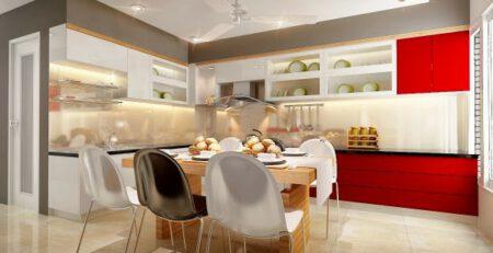 Nguyên tắc thiết kế nhà bếp và phòng ăn