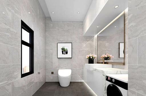 Những mẫu gạch lát phòng tắm đẹp