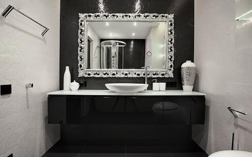 Những mẫu gương phòng tắm đẹp