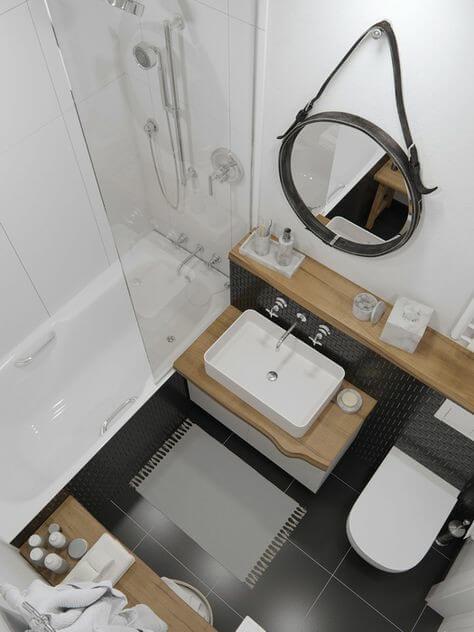 Những mẫu nhà tắm đẹp 4m2
