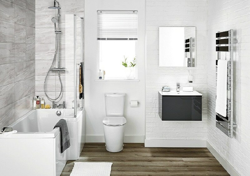 Những mẫu nhà tắm đẹp đơn giản